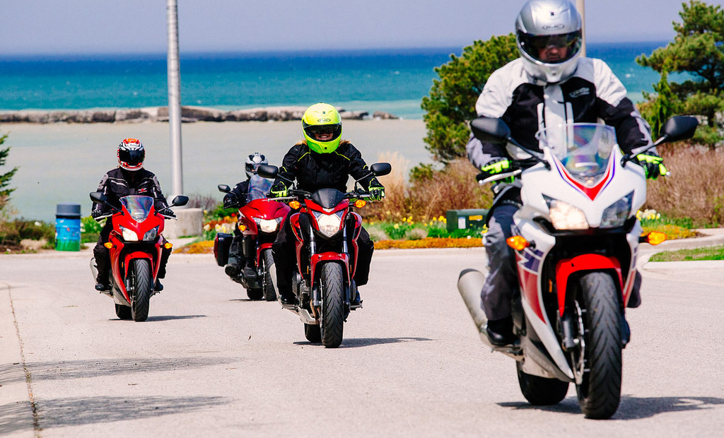 Riding in groups
